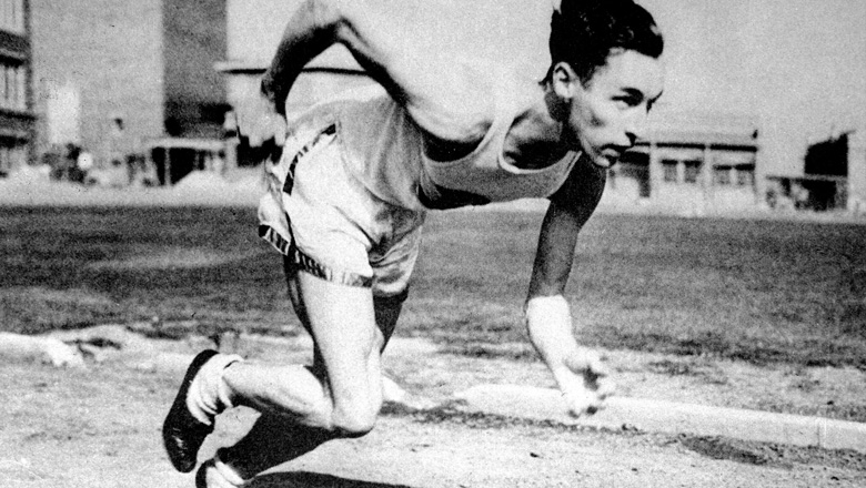 Percy Williams running