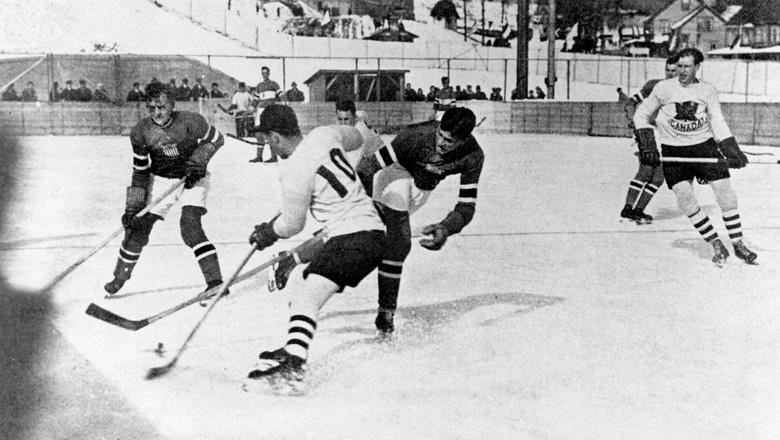 1932 Lake Placid Mens Hockey Gold