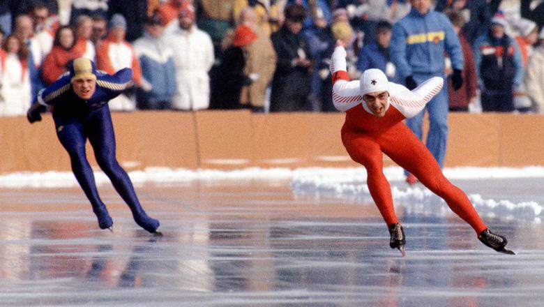 Sarajevo Gaetan Boucher speed skating