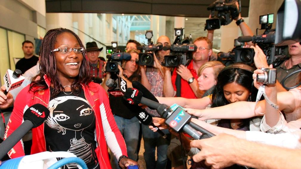 A Pioneer Grappler: Meet Ohenewa Akuffo, Olympic Women's Wrestler