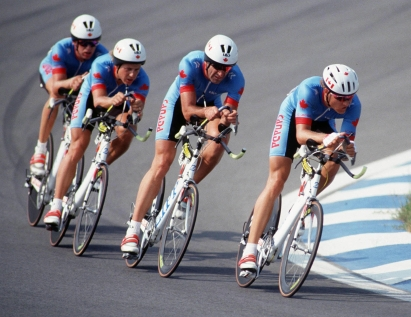 Cycling - Men's Time Trials