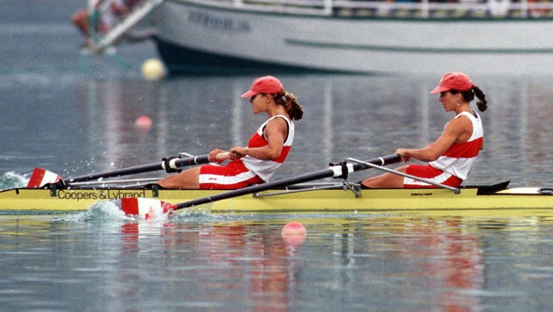 Team Canada Marnie McBean Kathleen Heddle Barcelona 1992