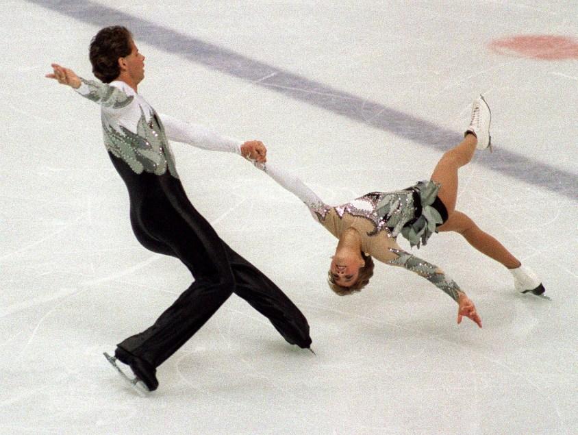 Isabelle Brasseur and Lloyd Eisler