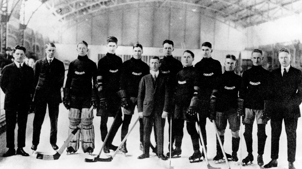 1920 Winnipeg Falcons Men's Hockey Team