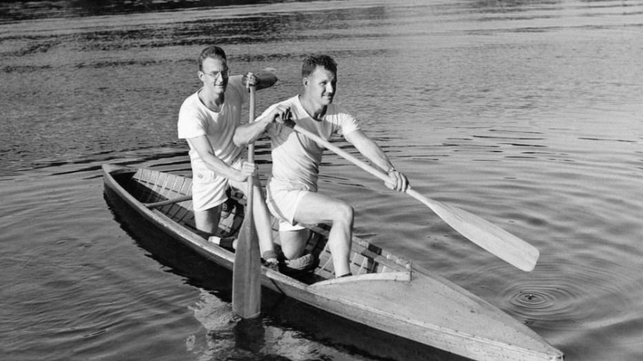 Ken Lane and Don Hawgood