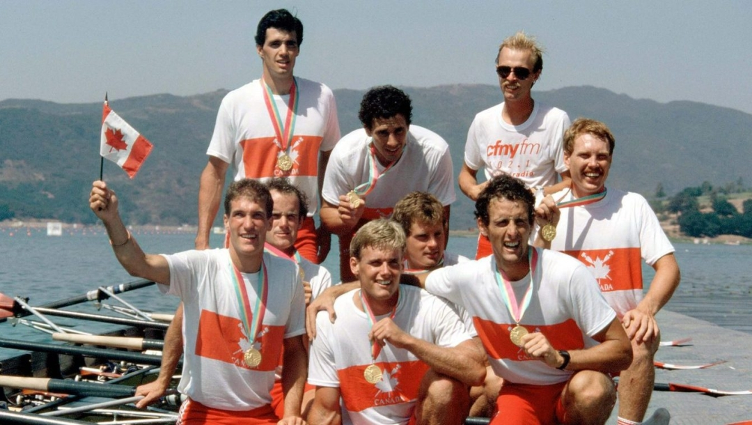 LOS ANGELES OLYMPICS - ROWING - MEN'S