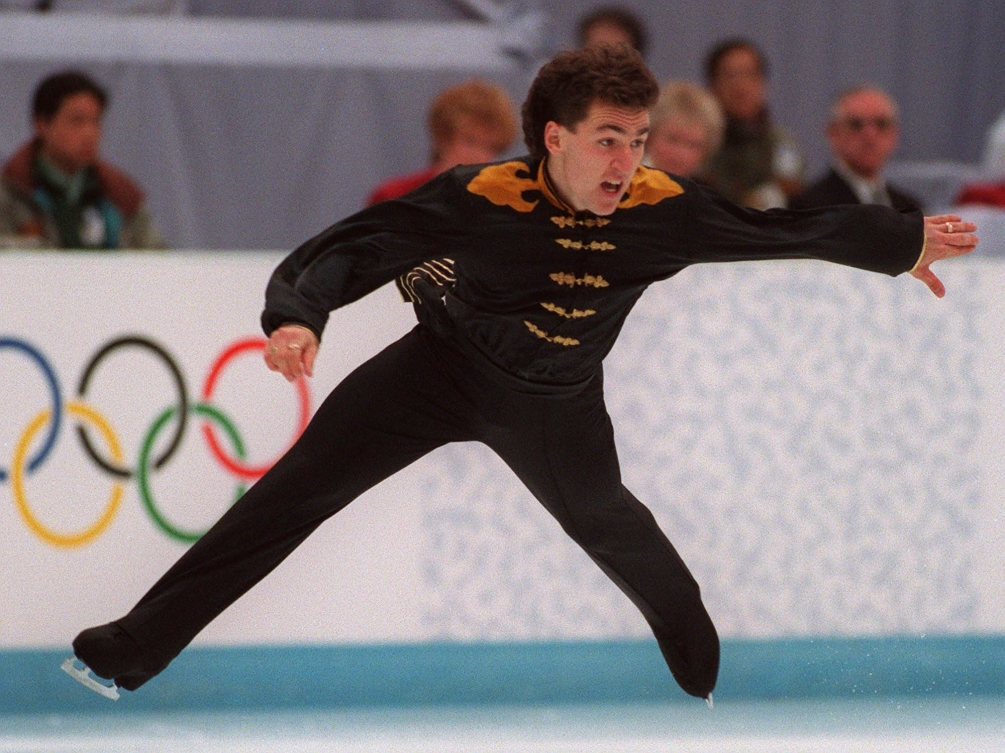 Elvis Stojko skating