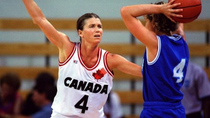 Bev Smith like canadian basketball player