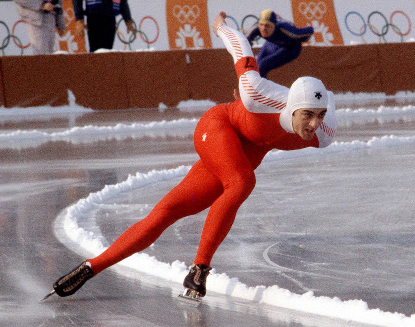 Gaetan Boucher skating