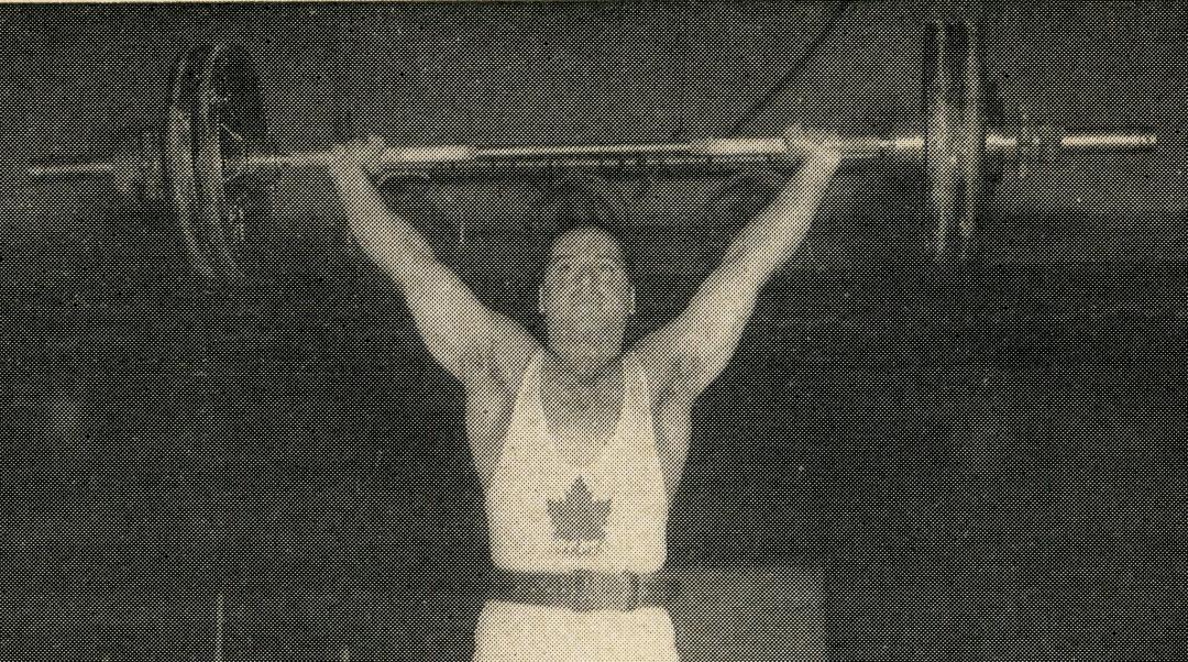 Gerald Gratton executing a snatch