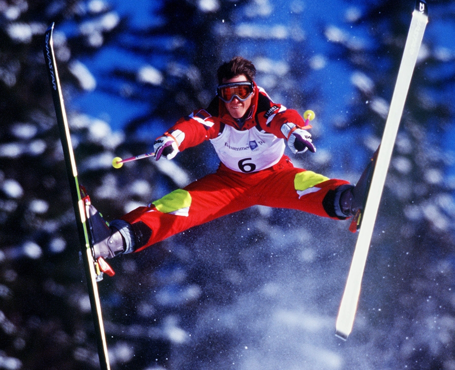 Brassard, Jean-Luc skiing