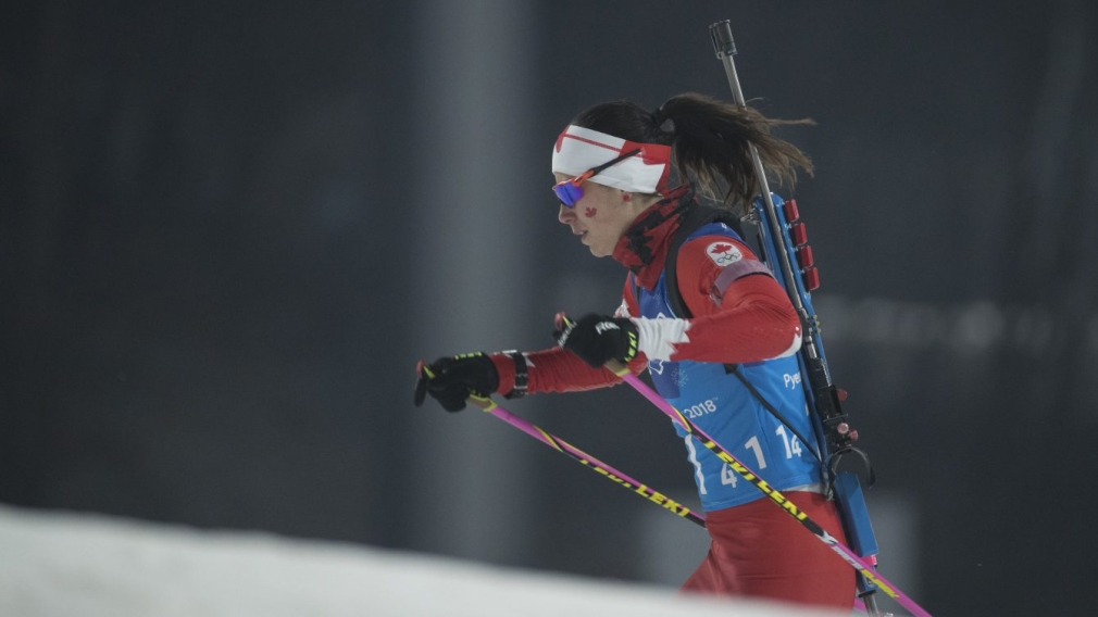 Team Canada Rosanna Crawford PyeongChang 2018
