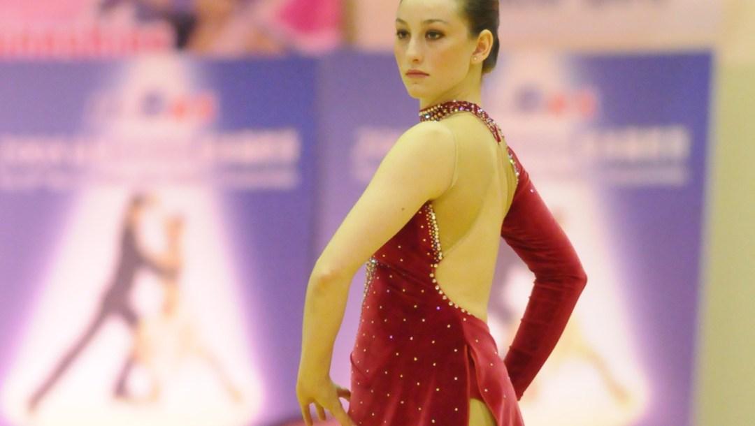 Canadian roller figure skater Kailah Macri
