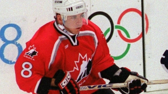 Team Canada Mark Recchi