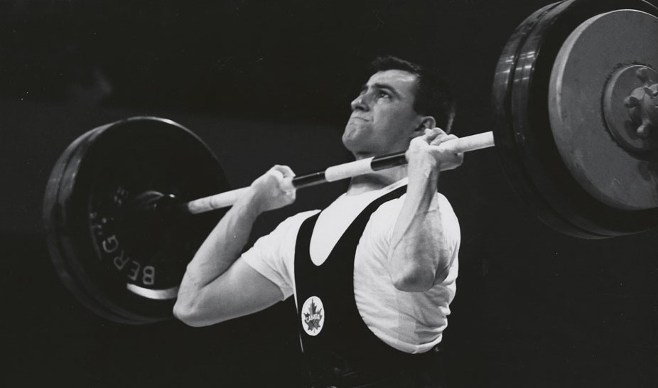 Pierre St. Jean at the 1967 Pan Am Games in Winnipeg
