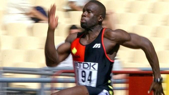 Surin sprinting