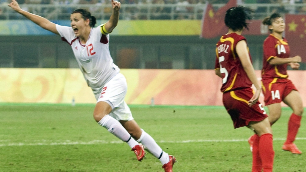 Canadian Olympic Committee Taps Christine Sinclair to Lead Canada into Guadalajara 2011