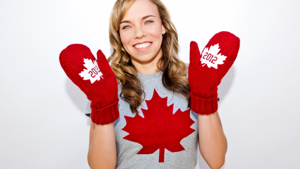 New Red Mittens Unveiled: Helping Canadian Athletes Go For Gold in London 2012