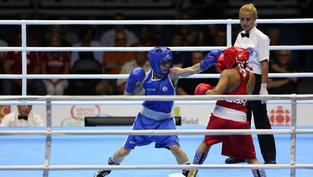 Mandy Bujold Boxing