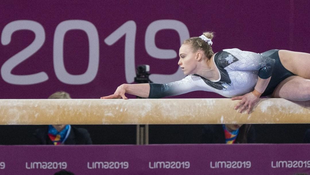 Team Canada Ellie Black Lima 2019