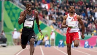 Gavin Smellie running