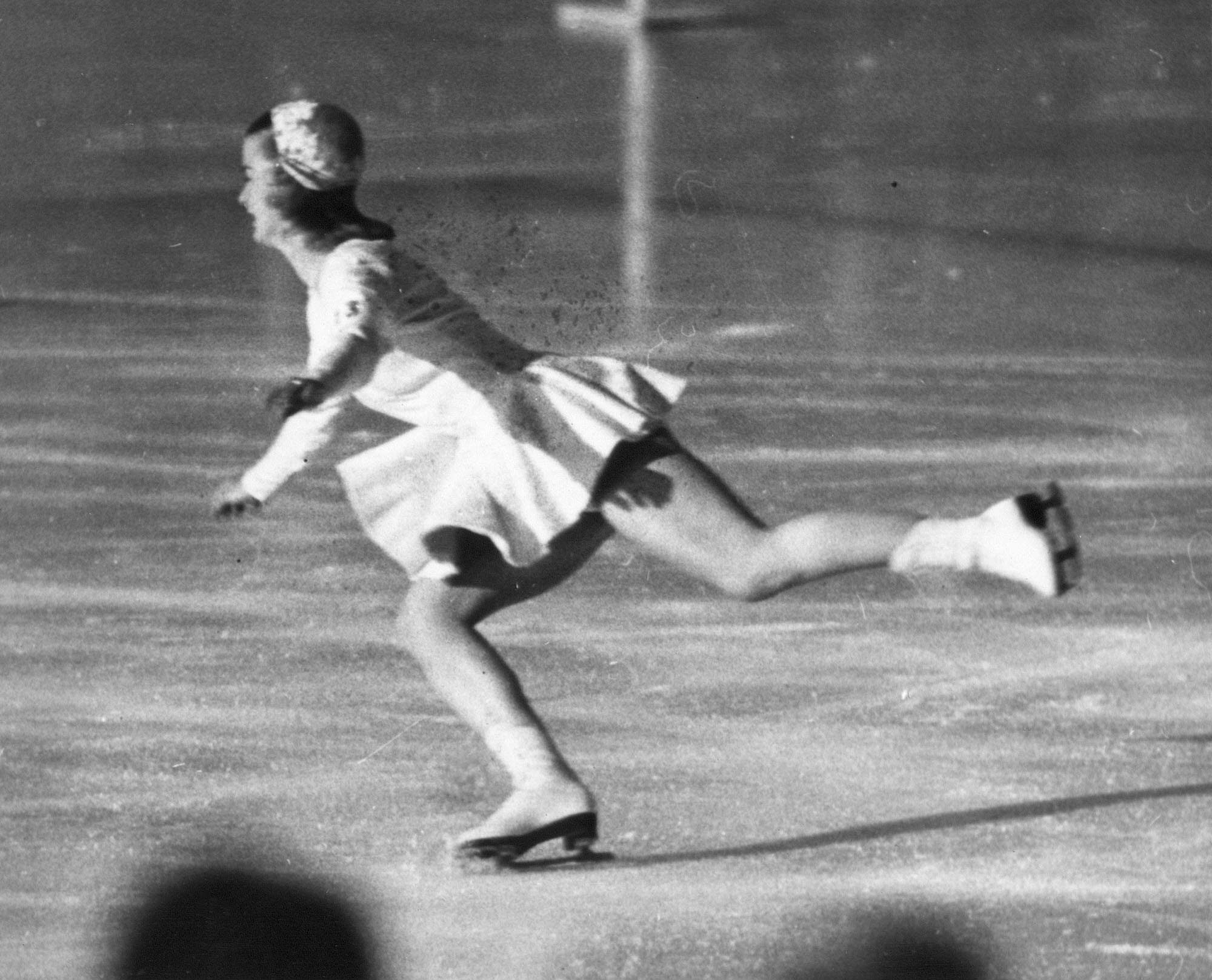 Barbara Ann Scott skates