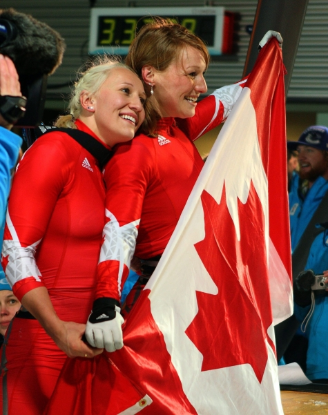 Kaillie Humphries & Heather Moyse (Vancouver 2010)