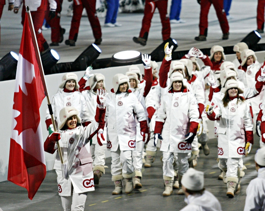 Team Canada Turin 2006 Opening Ceremony
