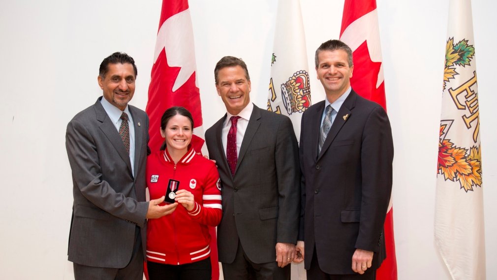 Olympians Honoured in Toronto