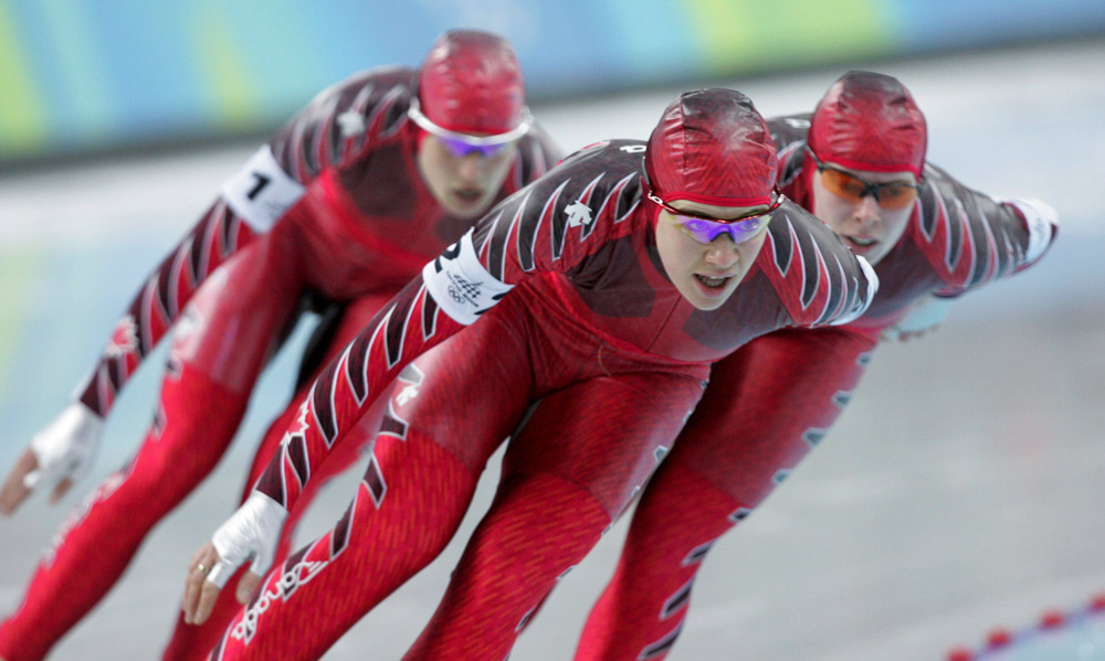 Canadian speed skaters