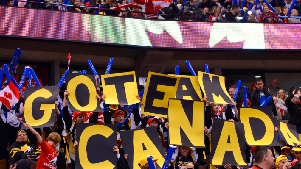 Canada's National Men's Under-18 Team Wins Gold Medal