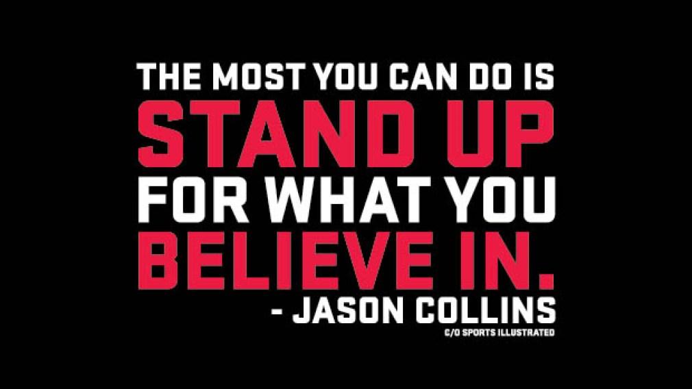 Jason Collins changes the world through sport