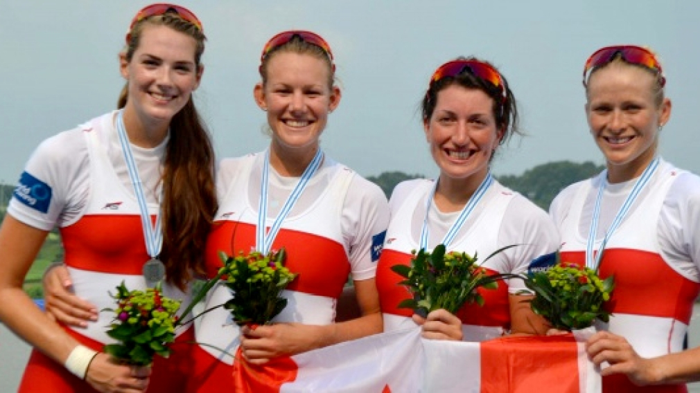 Fantastic Four nabs silver at Rowing Worlds