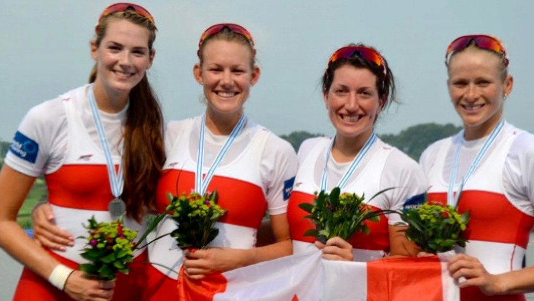 Rowing Worlds W4 Silver