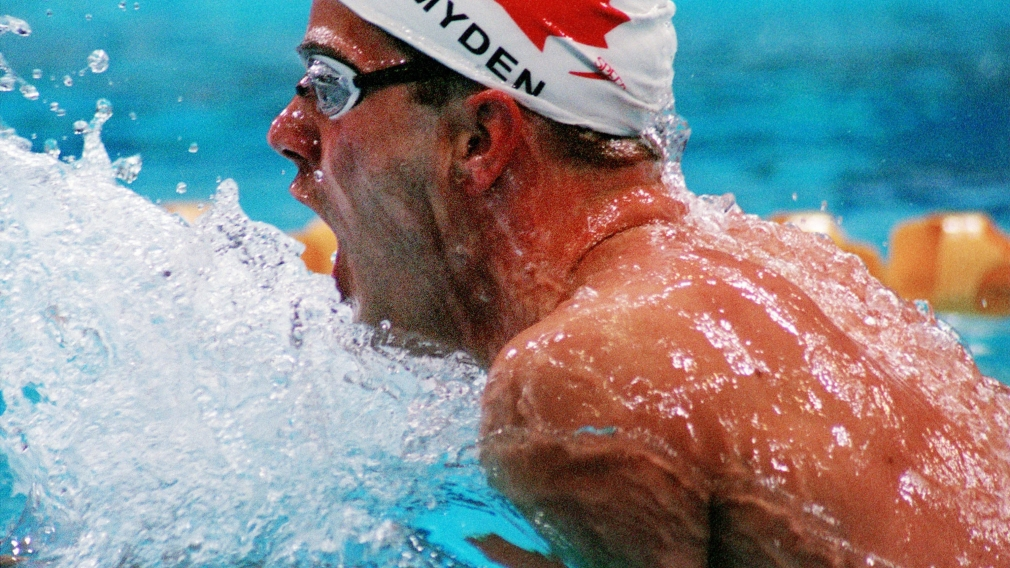 Myden swims to medley medal