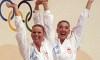 Double gold for synchronized swimmer Carolyn Waldo