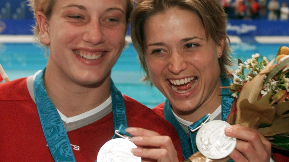 Heymans and Montminy: silver in Sydney