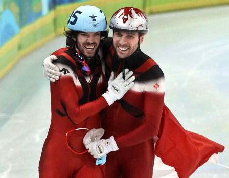 François-Louis Tremblay & Charles Hamelin (Vancouver 2010)