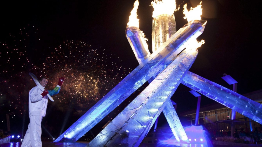 Memorable flame lightings from past Olympic Winter Games