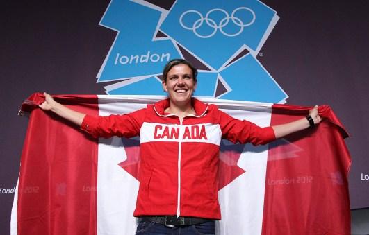 Christine Sinclair named closing ceremonies flag bearer, London 2012