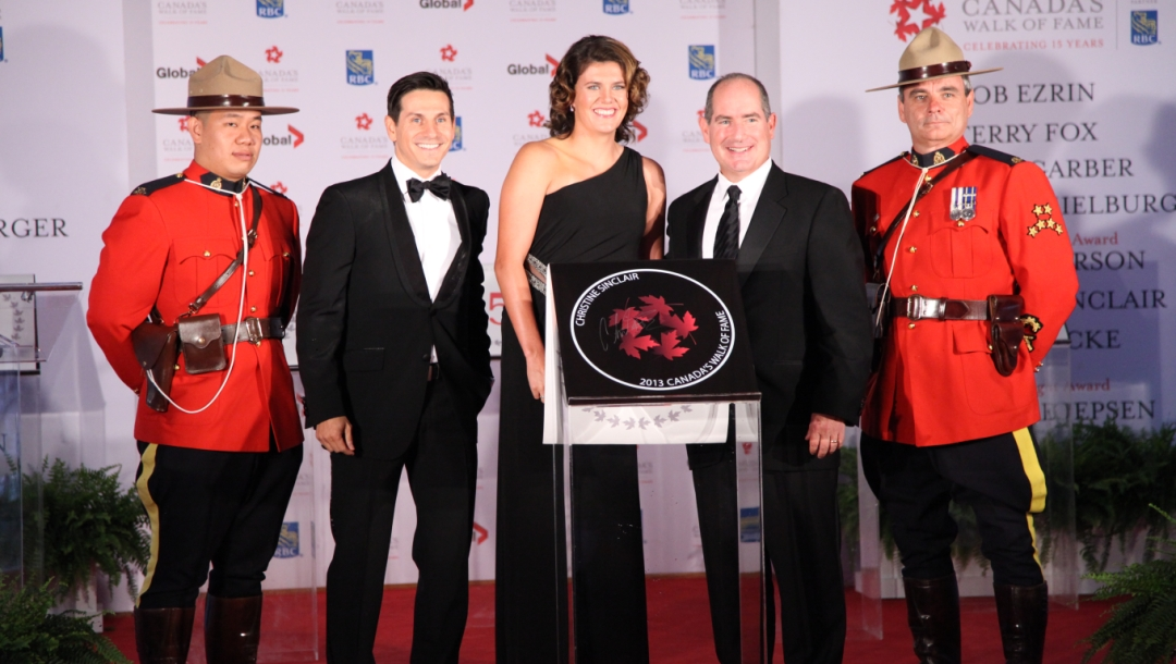 Christine Sinclair inducted to Canada's Walk of Fame