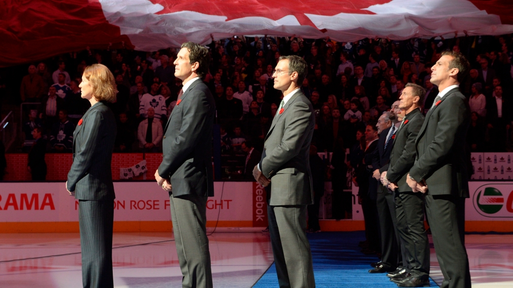 Heaney, Shanahan and Niedermayer inducted into the Hockey Hall of Fame