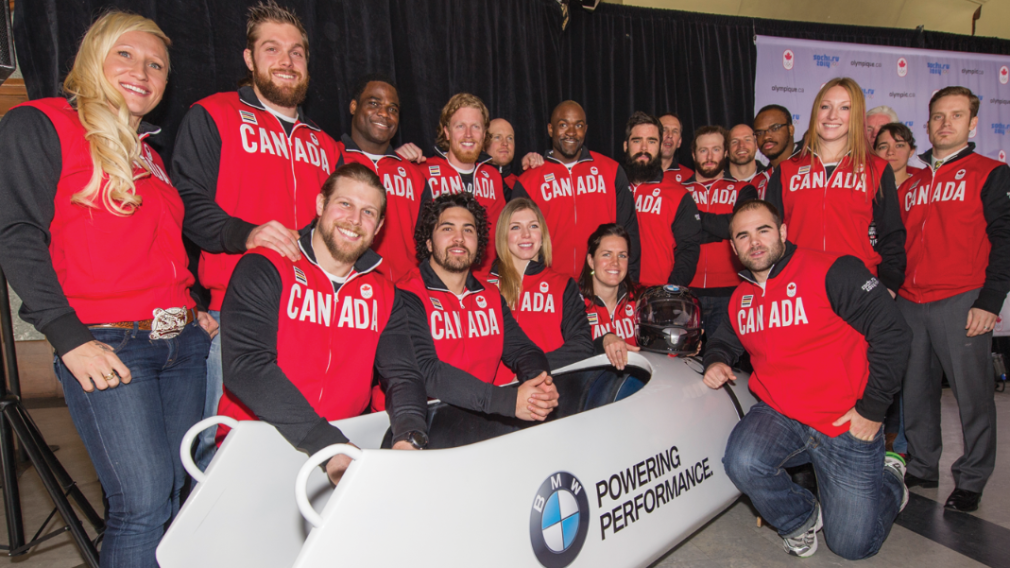 Veterans Humphries and Rush lead 2014 Canadian Olympic Bobsleigh Team