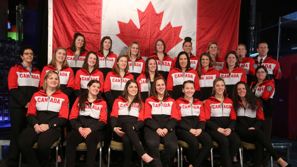 Canada reveals its national women's hockey team for Sochi