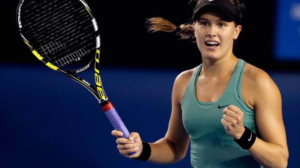 Genie Bouchard through to semis of Australian Open