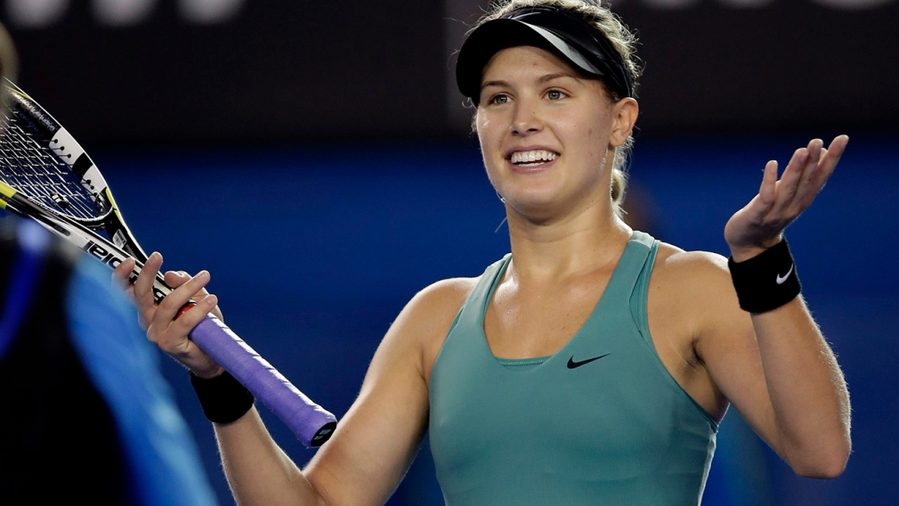 Bouchard in Grand Slam semi, nice to see and no surprise