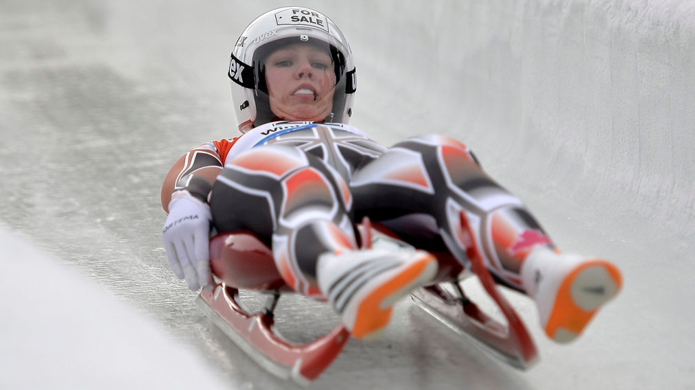 Luge team makes history with three-medal day