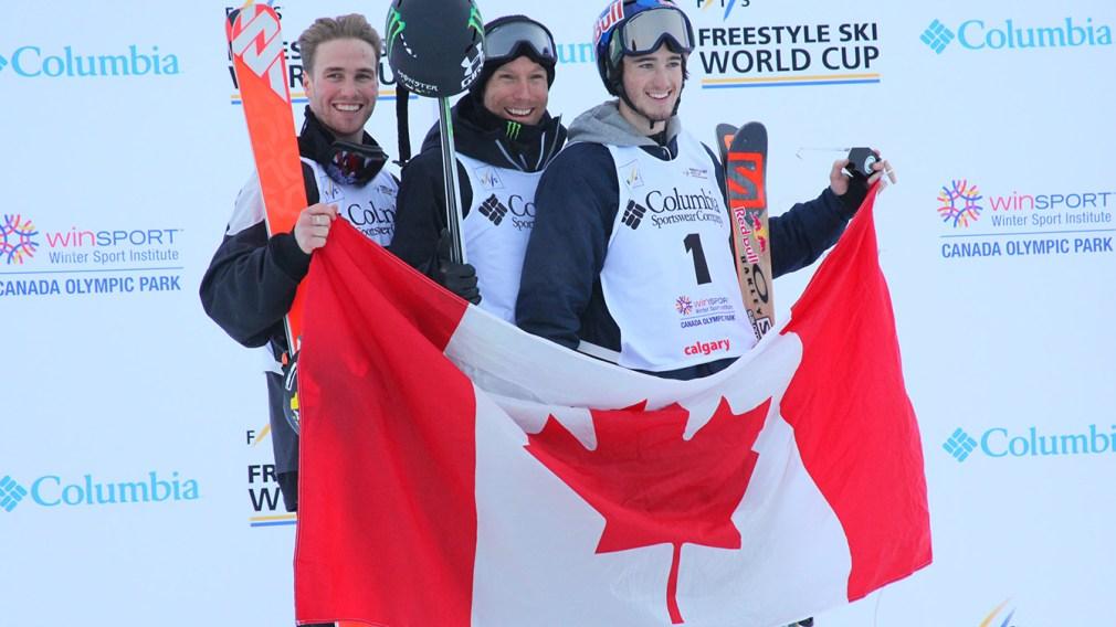 Justin Dorey leads Canadian ski halfpipe sweep in Calgary