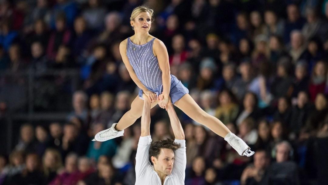 Team Canada Kristen Moore-Towers, Michael Marinaro