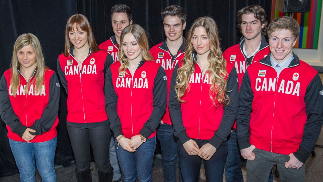 Freestyle skiing team for Sochi
